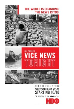 HBO's Vice News Tonight